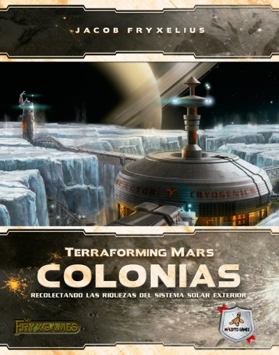 colonias, expansion terraforming mars