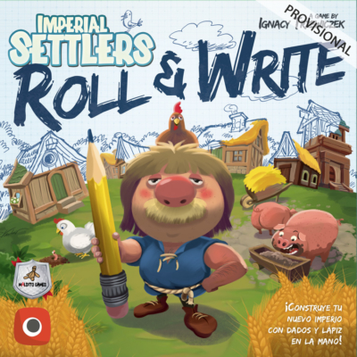 COLONOS DEL IMPERIO ROLL AND WRITE MALDITO GAMES